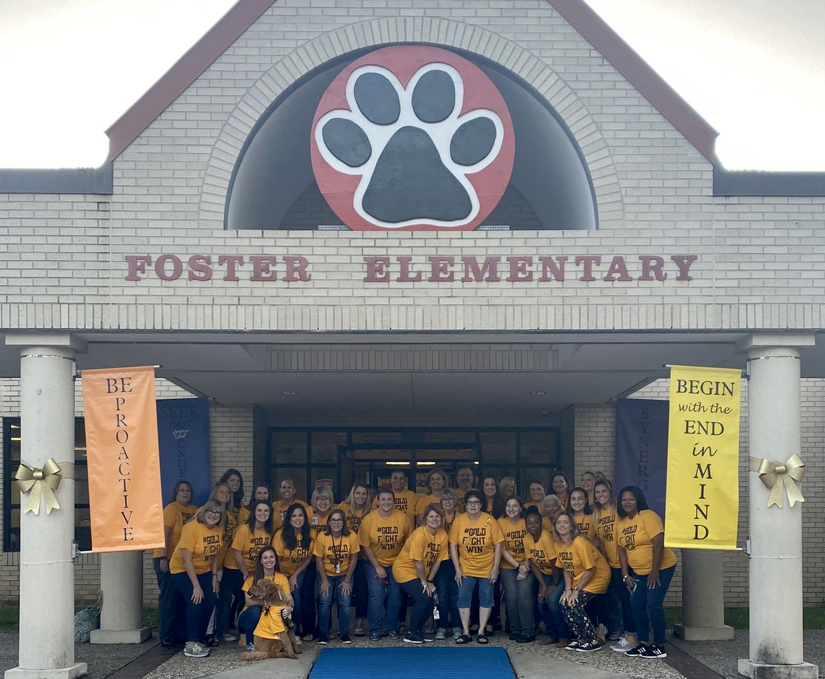 September is Childhood Cancer Awareness month, but @HumbleISD_FE supports pediatric cancer patients and funding for research year-round. TOGETHER we can find a cure. #GOLDFIGHTWIN #FOSTERingLeaders #BeTheLight<br>http://pic.twitter.com/diJzRyNwd0