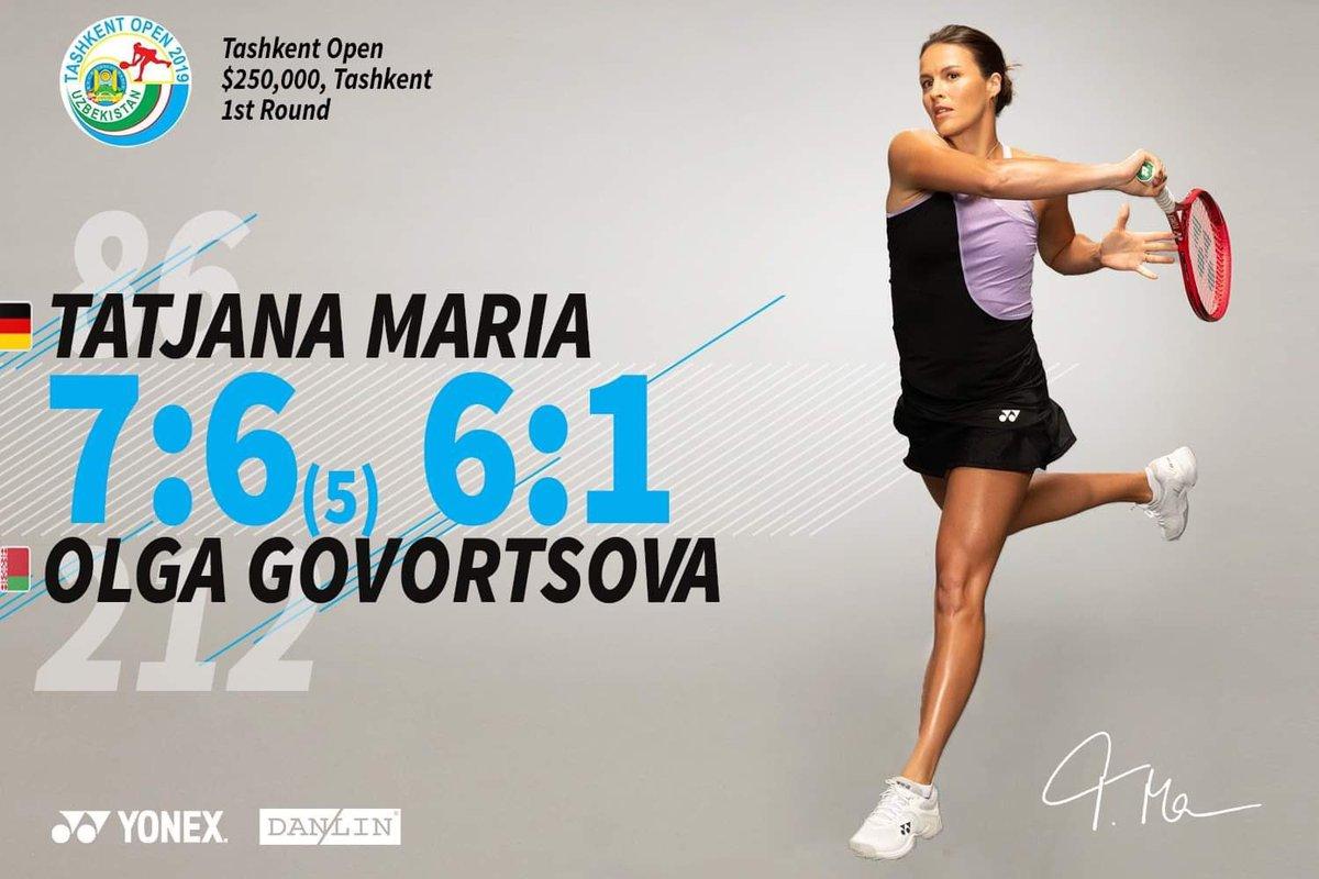 Tatjana Maria @Maria_Tatjana