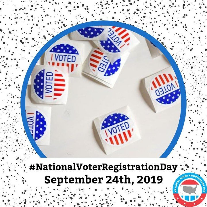 Registering to vote takes less than two minutes. If you haven't registered, be sure to get it done now vs later! #VoterRegistrationDay 🗳Check out @NatlVoterRegDay's site for help on registering ➡https://nationalvoterregistrationday.org/register-to-vote/?source=nvrd-topnav …