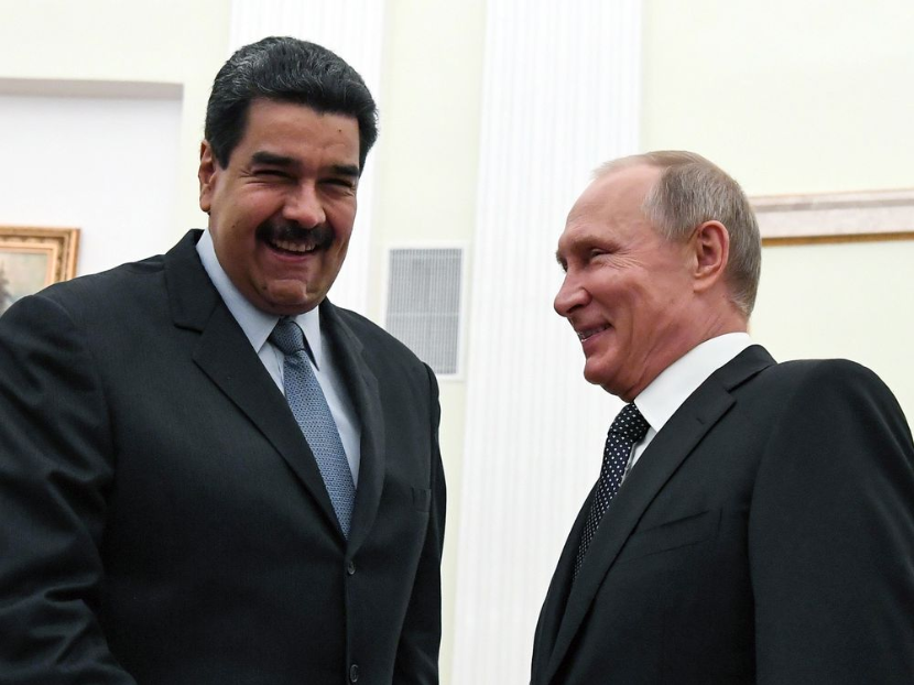 Мадуро в Москве