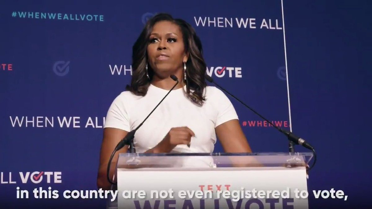 The best person to help the people in your life register to vote is YOU!   On #NationalVoterRegistrationDay here's our challenge to you: Help 3 friends or family members register to vote.   Join us and @MichelleObama and take the pledge: http://weall.vote/pledge