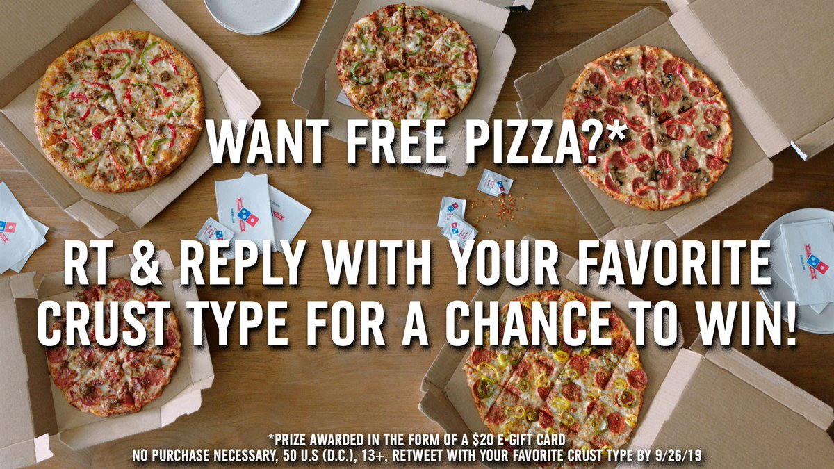 Domino S Pizza On Twitter Carry Out 3 Topping Pizzas And Choose Any Of Our 5 Crust Types For 7 99 Each Our Weeklong Carryout Deal Includes Hand Tossed Handmade Pan Brooklyn Style Crunchy Thin