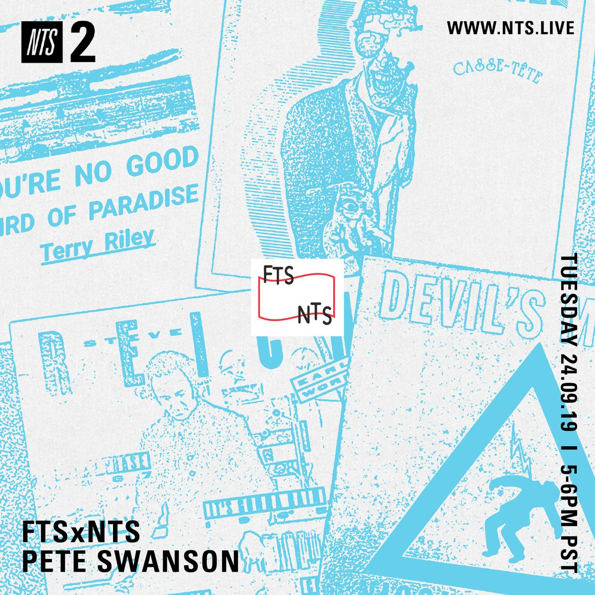 I'm on @NTSlive later today... back to the studio with an intense set of deconstructed/reconstructed/refracted iterations of pop songs.. 5-6 PM PST for a reeeaaaaaal brain melt..