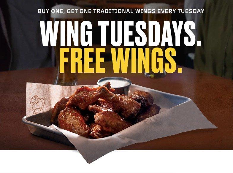Buffalo Wild Wings Enjoy Bogo Wings Every Tuesday Clark