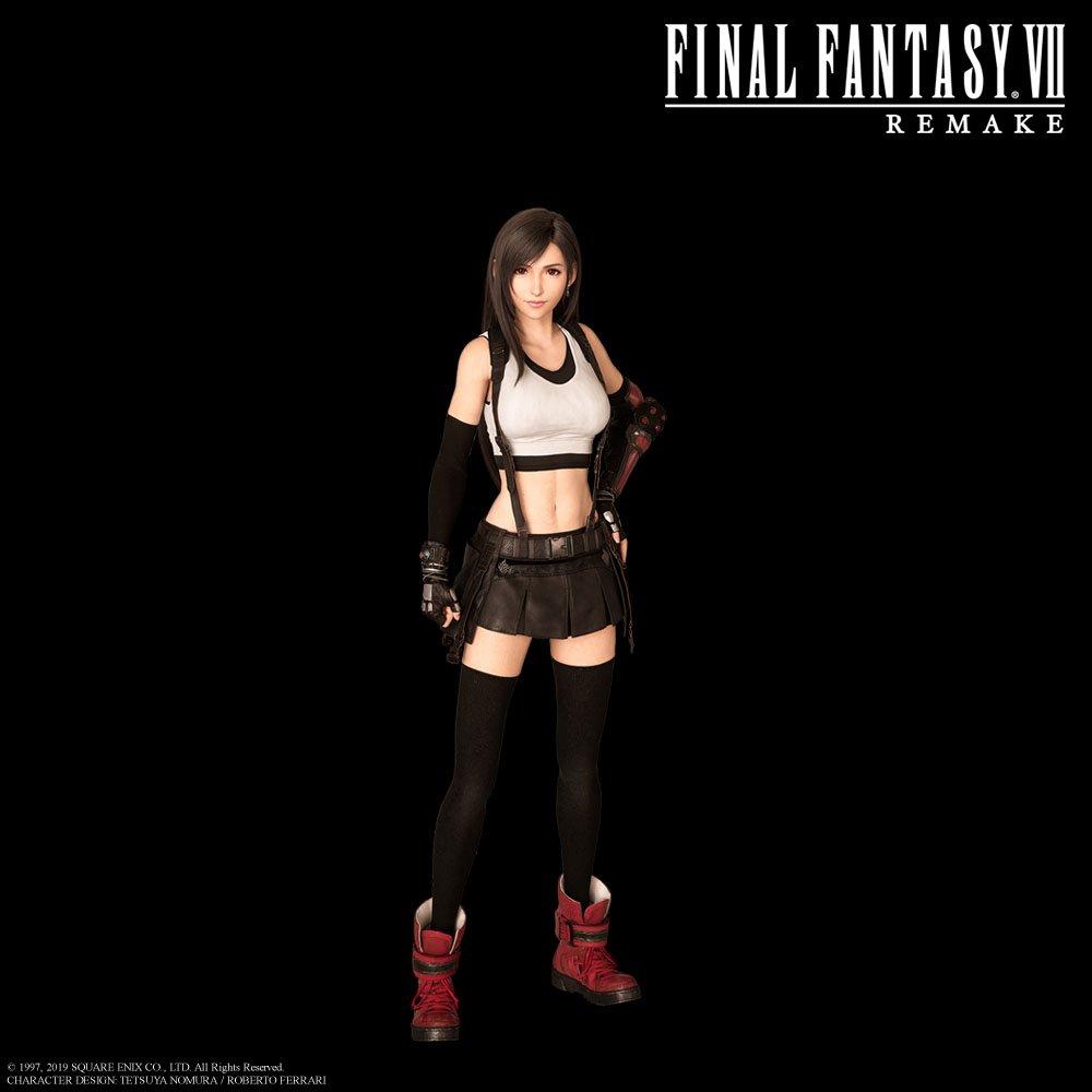 Final Fantasy Vii Remake On Twitter Tifa Lockhart A Kind