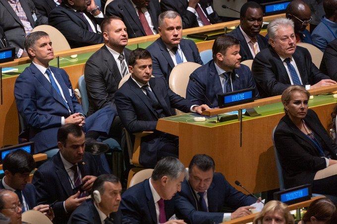 США не выдали визы членам российской делегации, которые собирались ехать на Генассамблею ООН - Цензор.НЕТ 7731