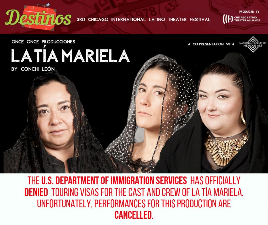 Acclaimed playwright's U.S. premiere canceled after immigration authorities deny crew visas