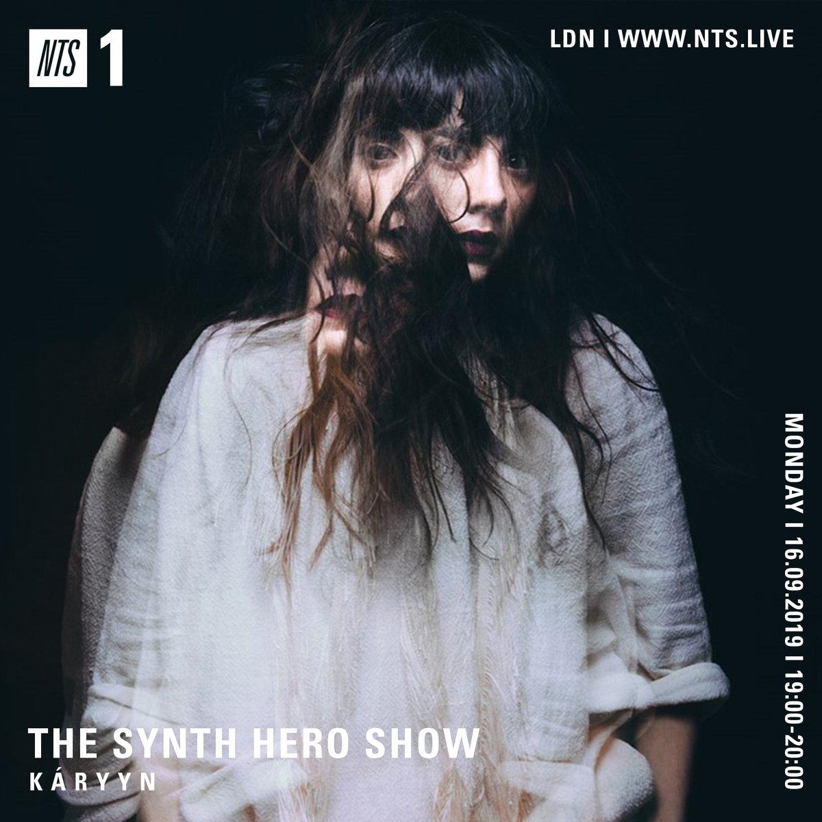 .@KARYYNmusics The @SynthHero Show mix on @NTSlive is now available on SoundCloud as a full hour mix! Listen here: 🎹 soundcloud.com/synthhero…/k-a-r-y-y-n-synth-hero-mix