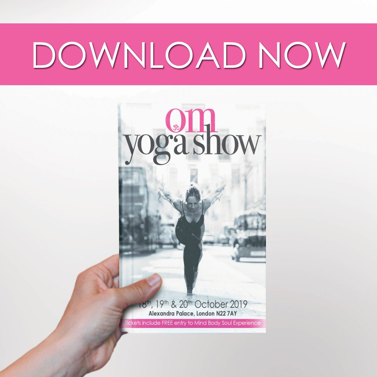 Download the show guide to see the full schedule of classes and workshops at the OM Yoga Show - plan your whole weekend before you set foot through the door!   Download now: http://bit.ly/2KZHMfx  #omyogashow