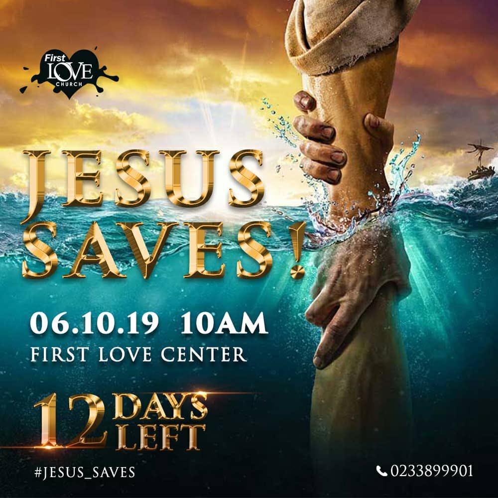 JESUS SAVES! #JesusSaves #6thOctober #SwollenSunday