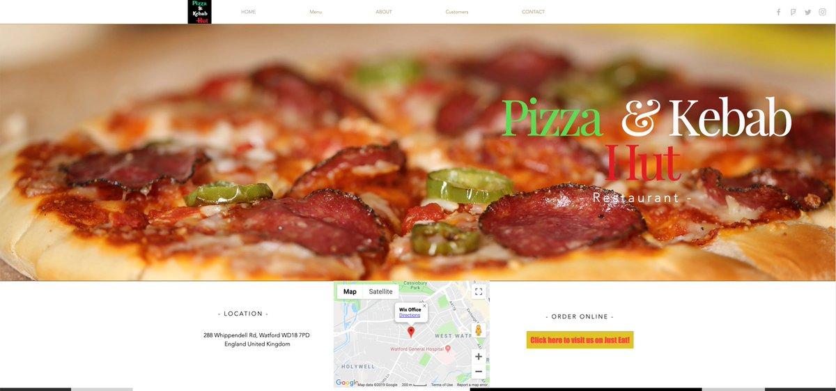 Pizza And Kebab Hut Watford At Pizzandkebabhut Twitter