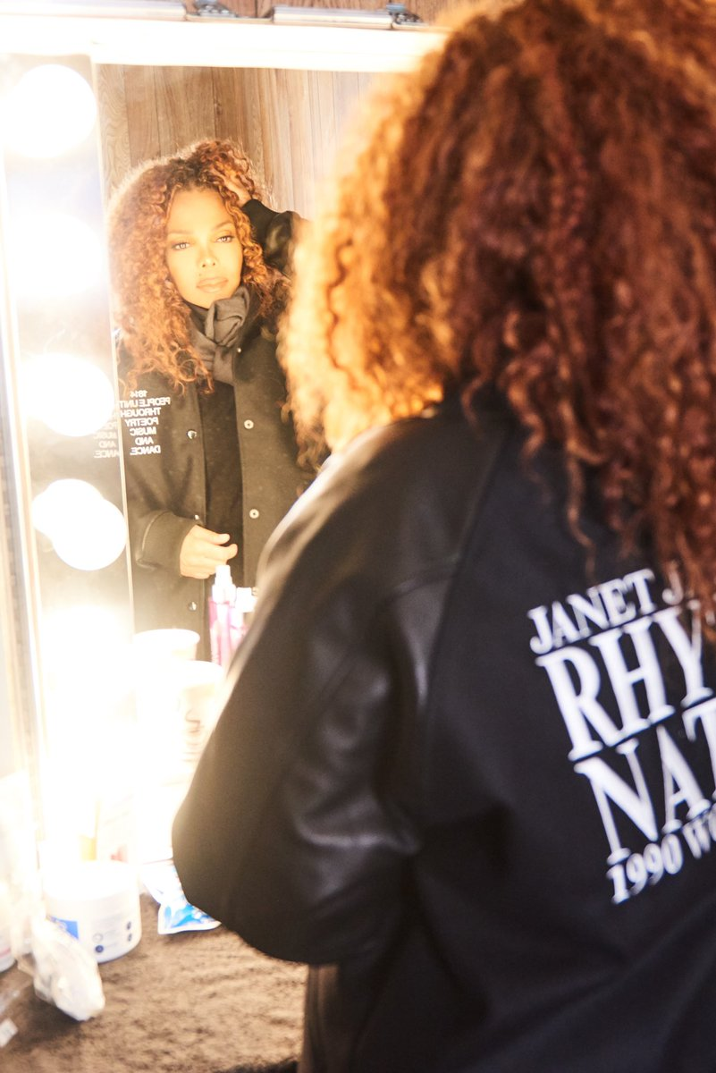 U Guys, the #RN30 limited edition jacket is now available on janetjacksonshop.com 💜- post photos and tag me when u all get yours so I can see! 🤗