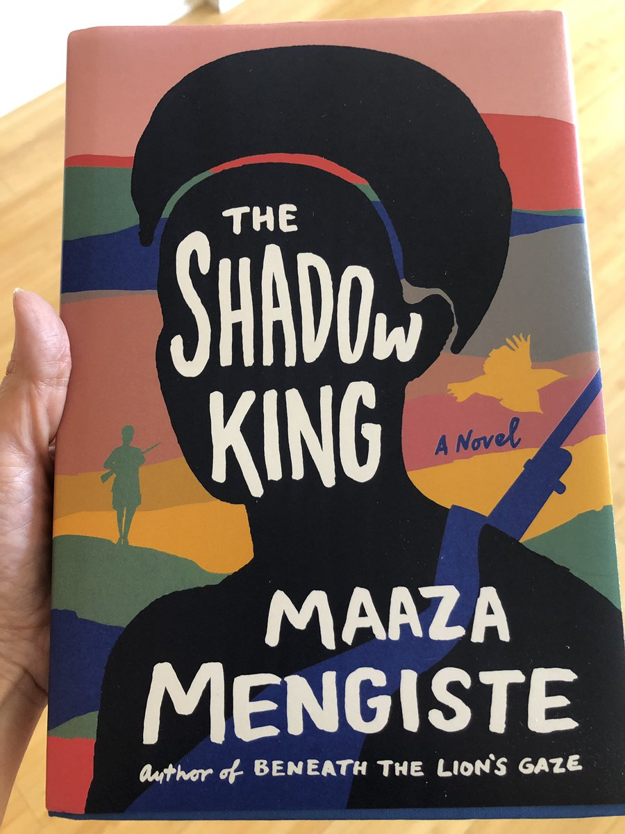 Happy publication day to @MaazaMengiste, whose new novel THE SHADOW KING comes out today. 🎉🎉🎉