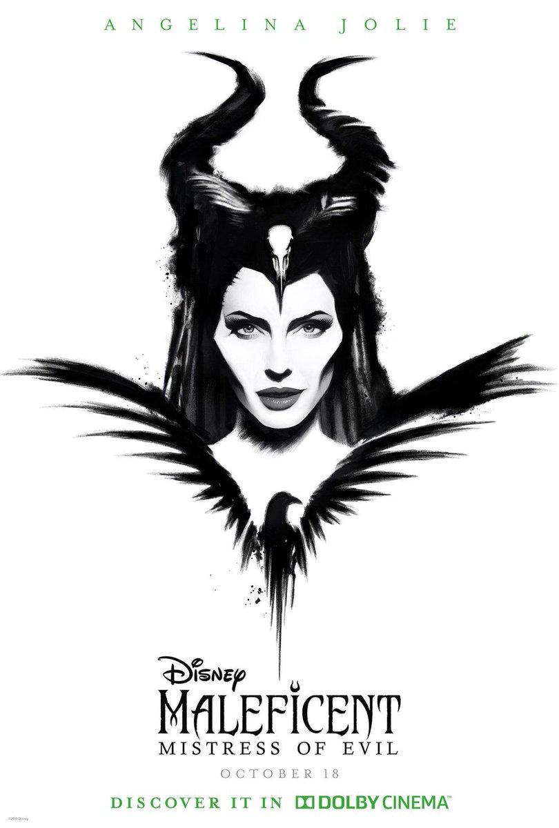 Mistress Evil Dolbycinema Exclusive Art Maleficent