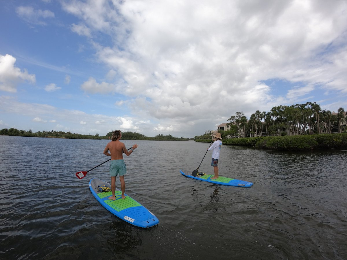 A1: @VISITFLORIDA Why choose when you can have both at @jupiterbeach?! Where you can relax on our secluded beach, unwind at the OPAL Spa and explore the beautiful waterways by paddle board with @BluelineSUPFL all in one weekend #Getaway. #FLTravelChat https://t.co/ogG9n2KBJ1