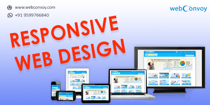 Webconvoy Pvt Ltd On Twitter Responsive Web Design Makes Website Interface Viewable To All The Users Every Device From Mobile To Tablet Has A Different Screen Size Resolution Responsive Web Designs