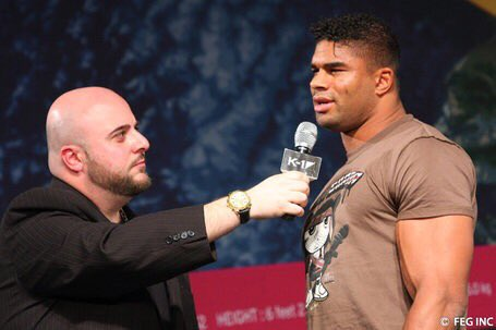 Great memories of the great K-1 days @Alistairovereem @aertspeter
