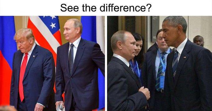 Tramp Putin Obama