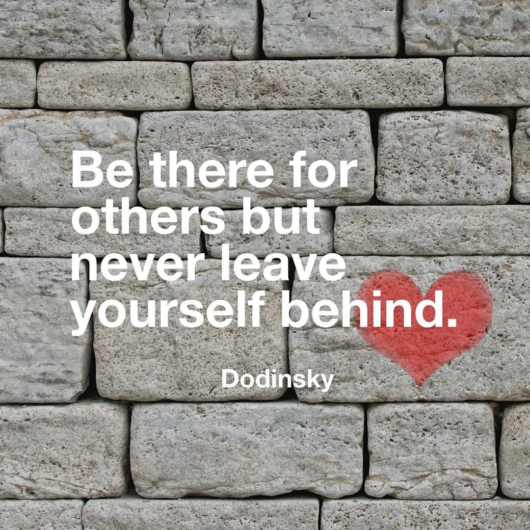 Be there for others, but never leave yourself behind 💕 #SelfCareSeptember