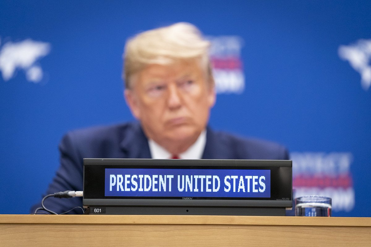 Under President @realDonaldTrump, people of faith have a champion for religious freedom in both the White House and the United Nations. How the President is fighting religious persecution around the world: 45.wh.gov/EbJVCf