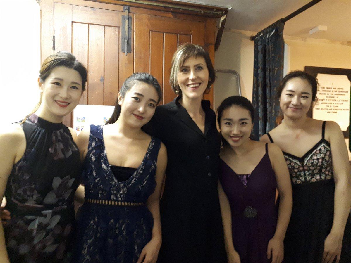 "Liz Nolan lyric on Twitter: ""With the DAZZLING Esmé Quartet at ..."
