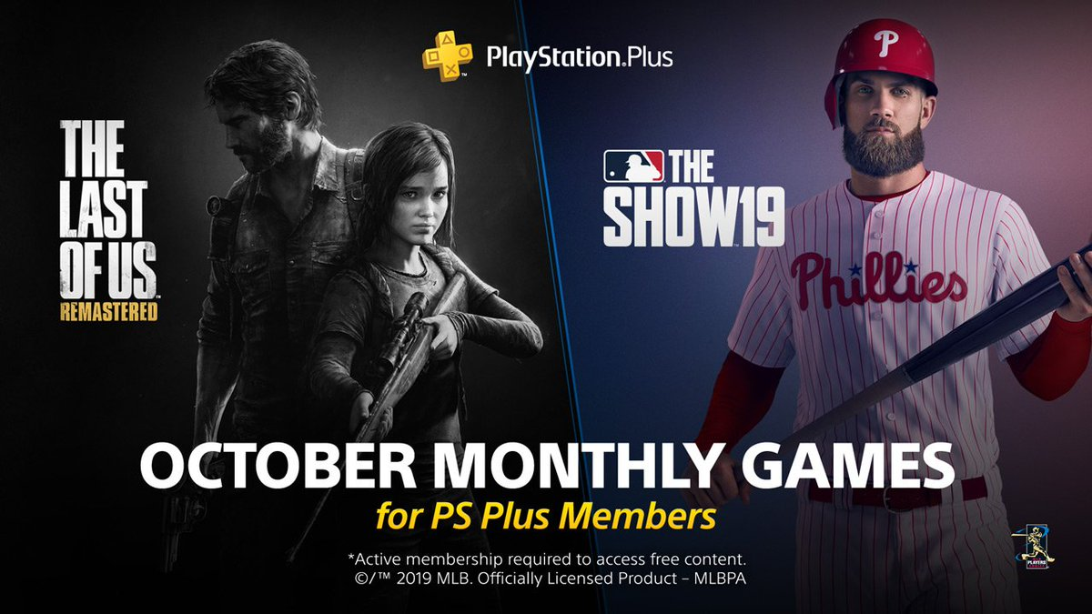 PS Plus Free Games October 2019