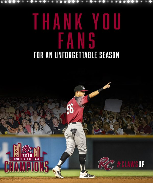 What an incredible season! Thank you for supporting us from the very beginning and making our 20th season truly unforgettable. Check out the video we put together of some of our favorite moments from the season! 💯⚾️ milb.com/sacramento/vid…