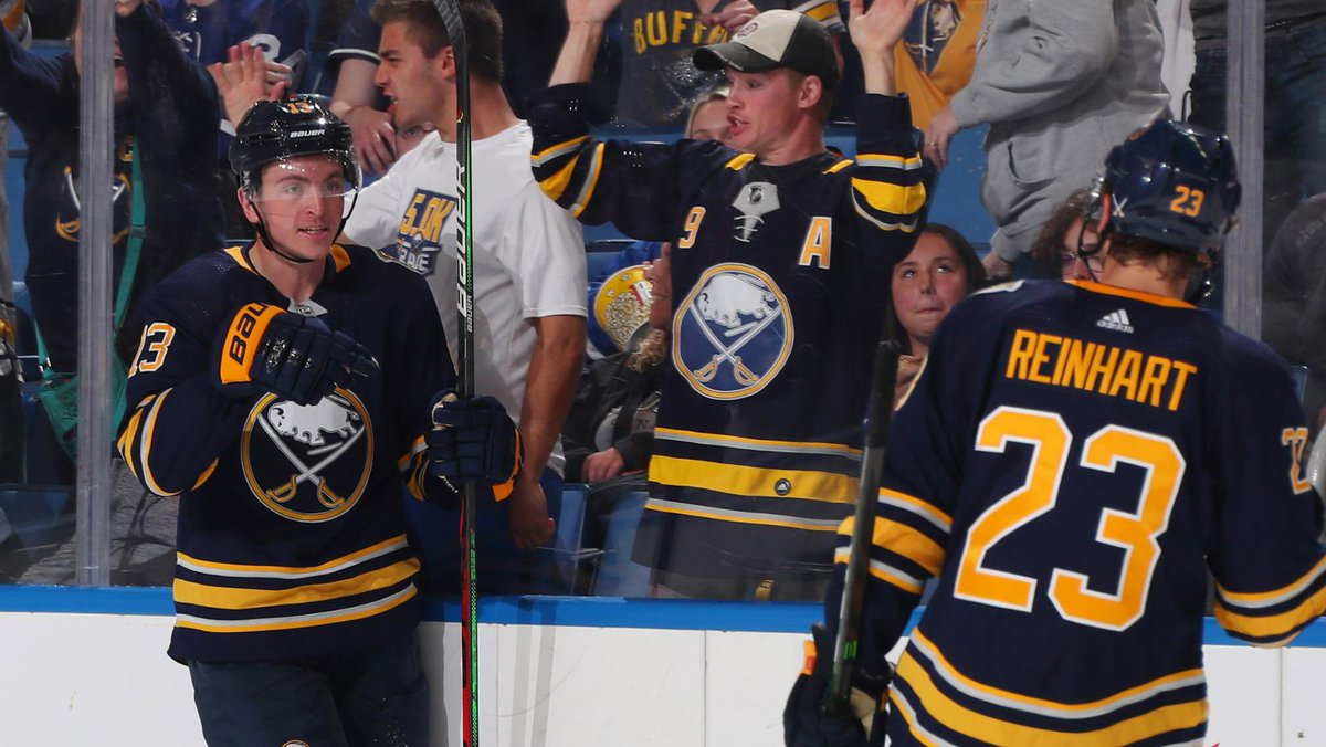 Whats one thing Jimmy Vesey wants the people of Buffalo to know about him off the ice? We have that answer & more from one of the newest members of the Sabres: bufsabres.co/RRwOuf