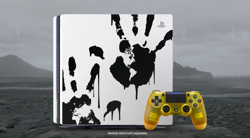 Sony's Death Stranding PS4 has a translucent BB pod controller