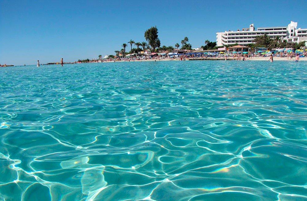 пляж Ларнака Кипр