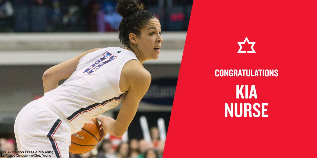 Congratulations to Kia Nurse for being nominated for the 2019 People's Choice Award. Vote for Kia now at PeoplesChoice.Sportshall.ca @KayNurse11 @CanBball @KiaNurseElite