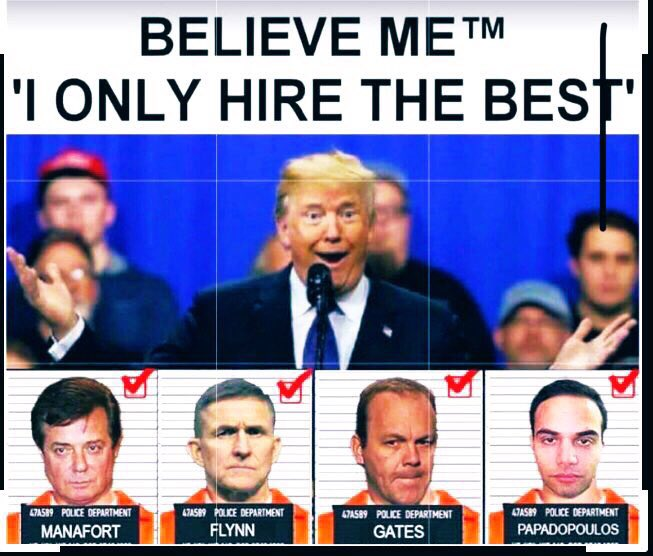 @realDonaldTrump Cannot wait to see Donny wearing orange jumpsuits like his best buddies.