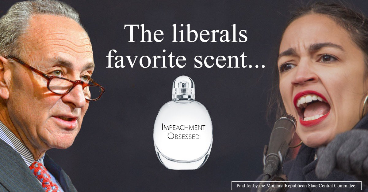 Radical Democrats scent of the past few years ... #ImpeachmentObsessed #mtpol