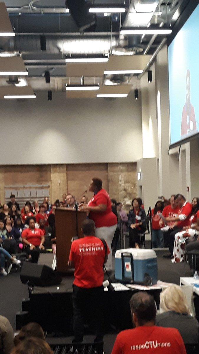 Alderwoman @J1Ramann speaking truth: teachers are co-parents #faircontractnow #putitinwriting #standwithCTU @CTULocal1 @SEIU73 @CTSCampaign @P4TChicago @TeachForJustice