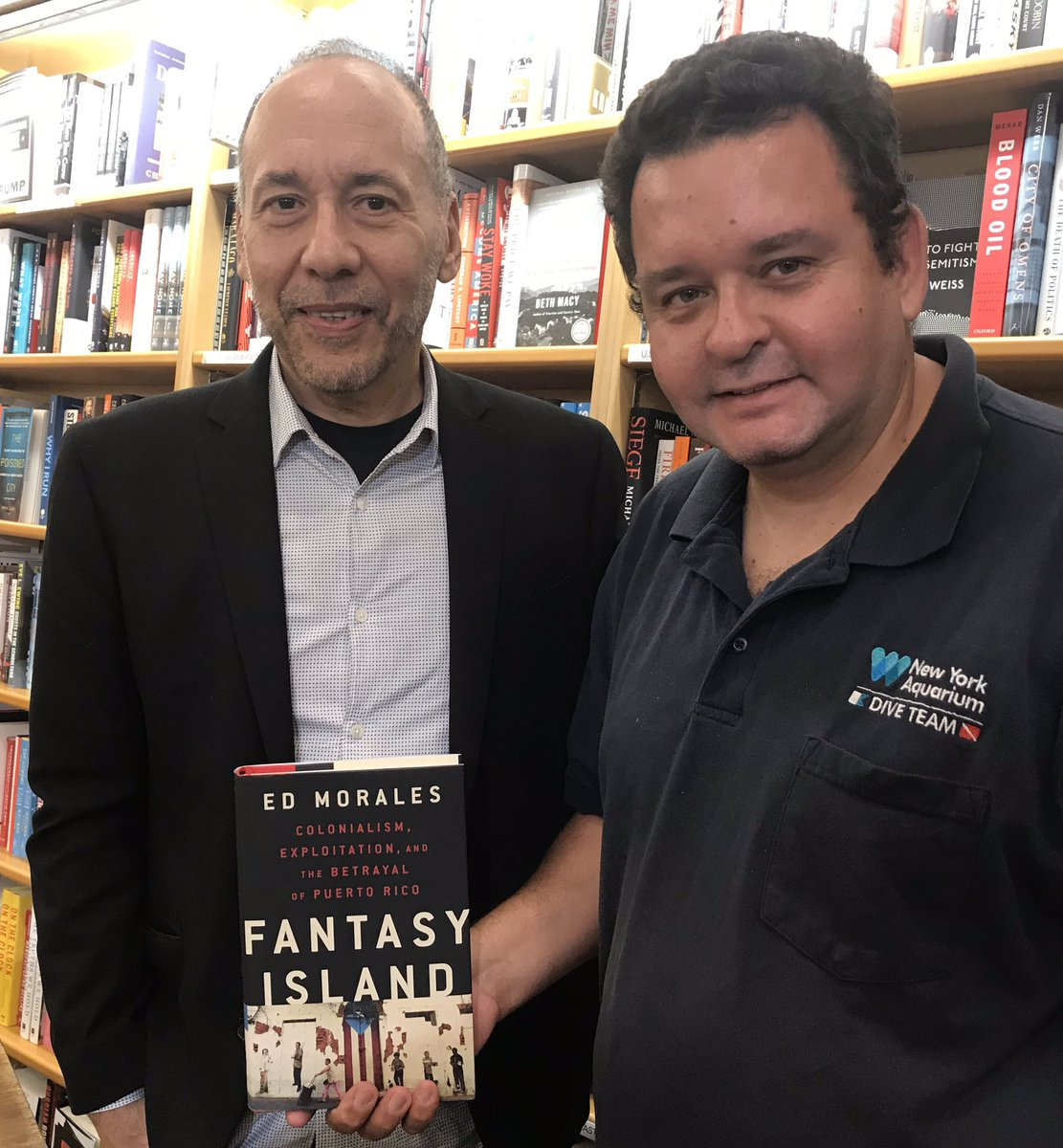 Looking forward to reading Ed Morales new book Fsntasy Island; about recent history in Puerto Rico. @SpanglishKid @PRparadeNYC @LatinxinPub @DefendPR @CentroPR @NBCLatino @DavidBegnaud