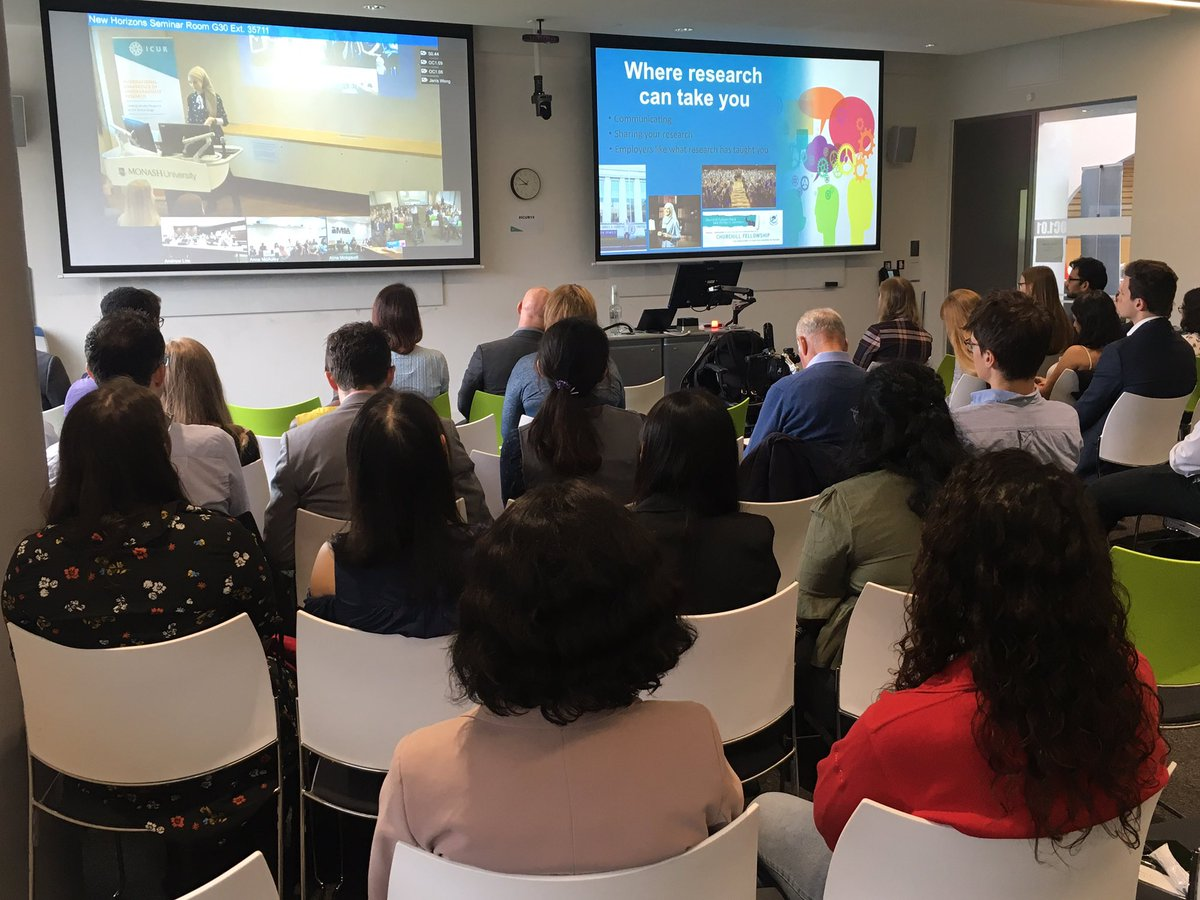 Inspiring our undergraduates -@SusanCarland challenges students to make the most of their skills, research can open doors to an extraordinary range of opportunities.