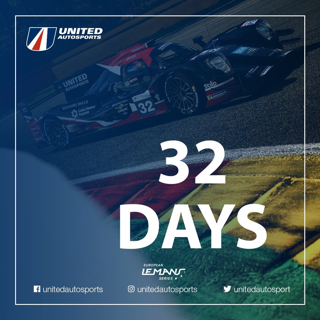 The countdown is on for the final round of the 2019 @EuropeanLMS - 3️⃣2️⃣ days left to go #BeUnited