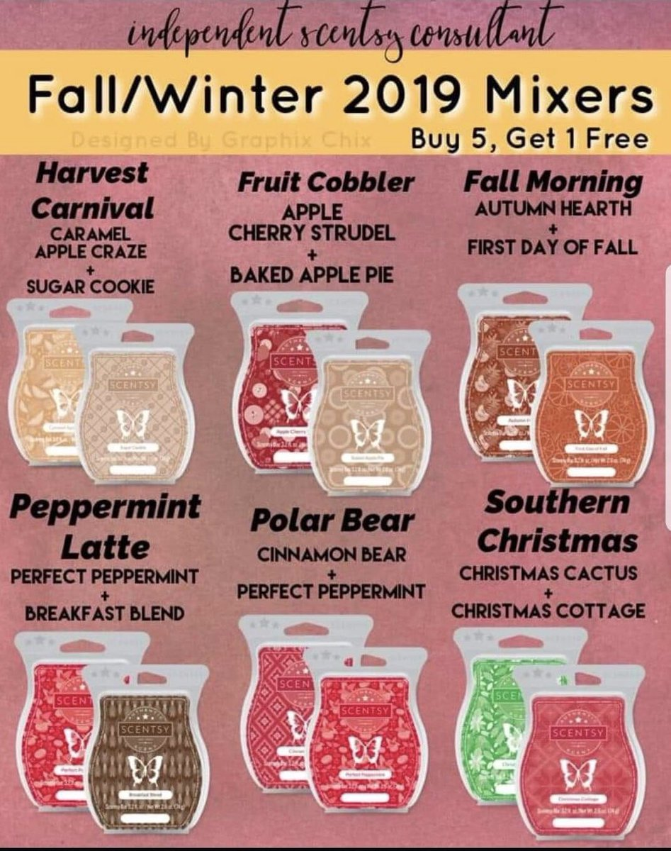 Florida Marie Scents By Scentsy On Twitter Check Out Our Fall Winter Waxes To Order Link Is In My Bio And If You Have Any Questions Feel Free To Dm Me
