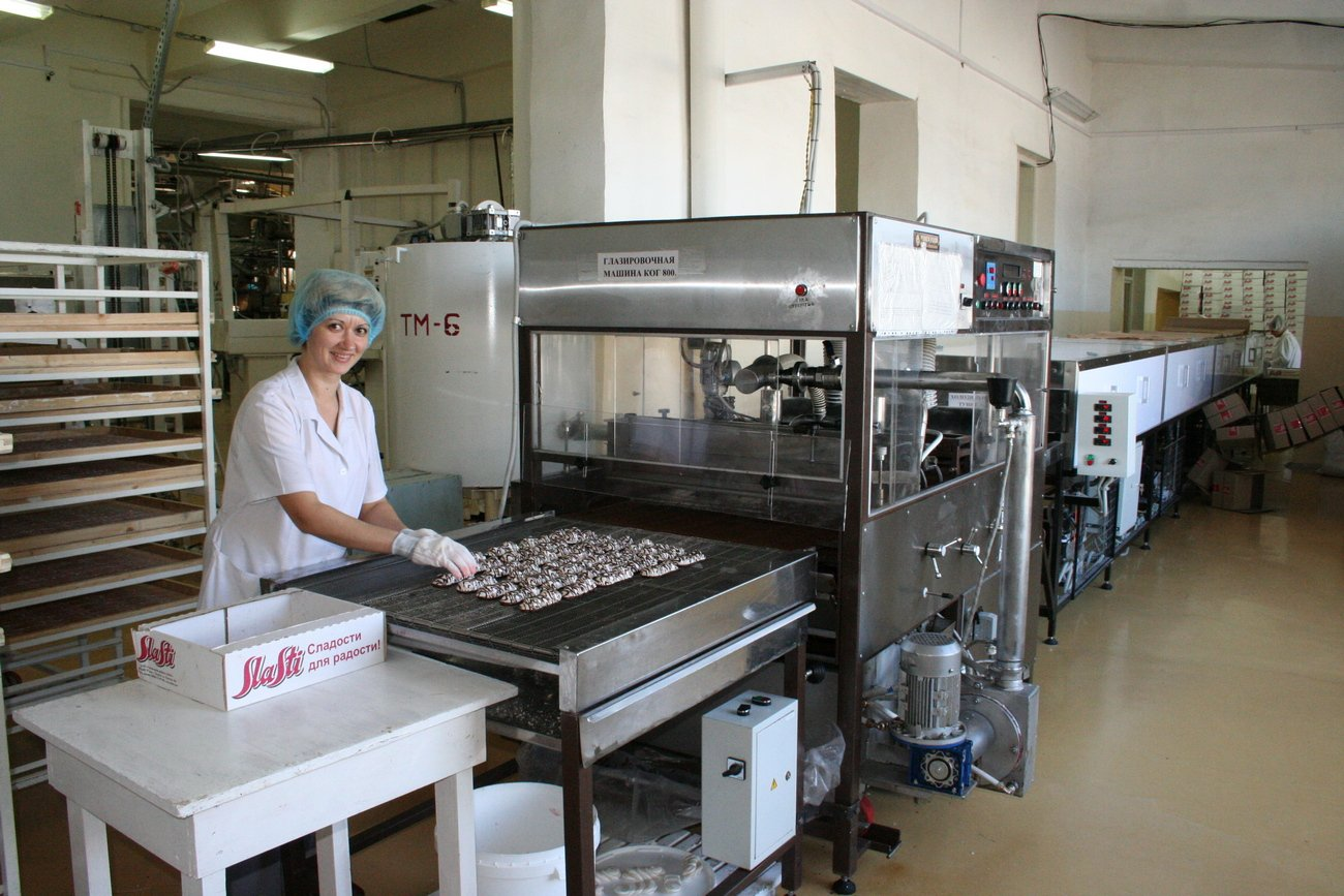 кондитерская фабрика сласти тольятти фото