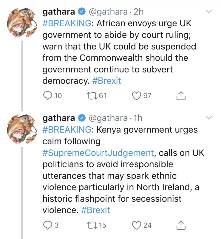 Big fan of Kenyans analyzing Britain the way Brits analyze them