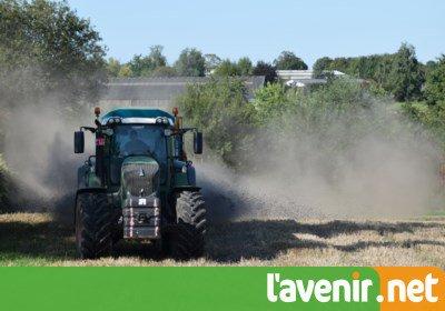 Plus de 97% des boues d'épuration produites par l'intercommunale @in_BW_scrl sont valorisées en agriculture.