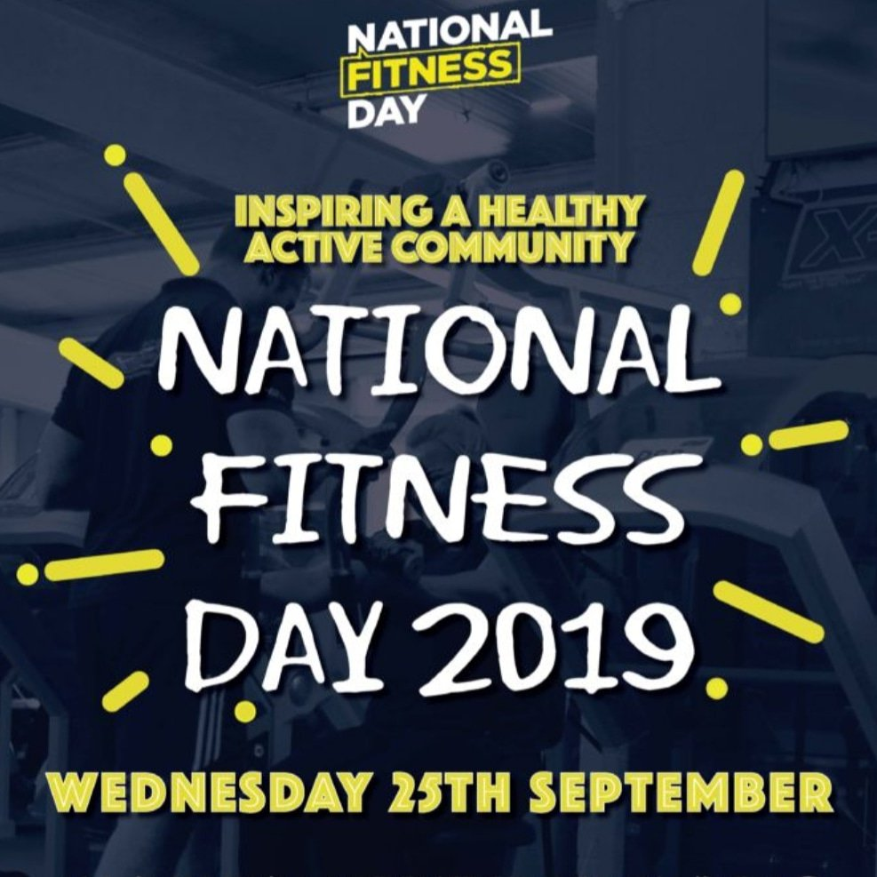 Lc Gym Swansea V Twitter Today Is Nationalfitnessday And We Ll Be Bringing You Classes That We Host At Lcgymswansea To Get You Fit And Active For Life Fitnessday Fitness2me Lcswansea Ukactive Fitnessdayuk