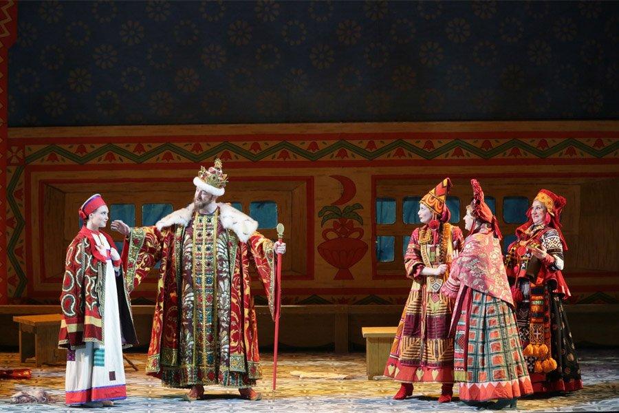 картинки на оперу о царе салтане все