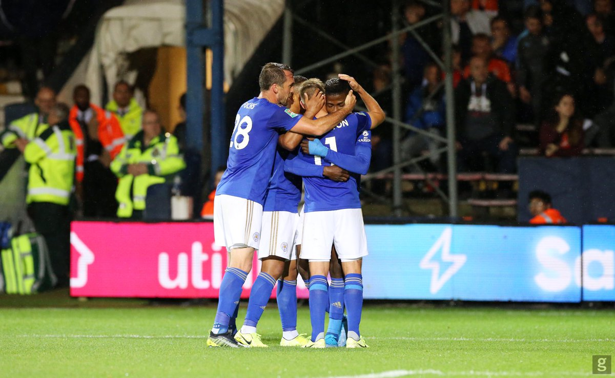 Great win last night lads 💙 looking forward to tonight's draw @LCFC
