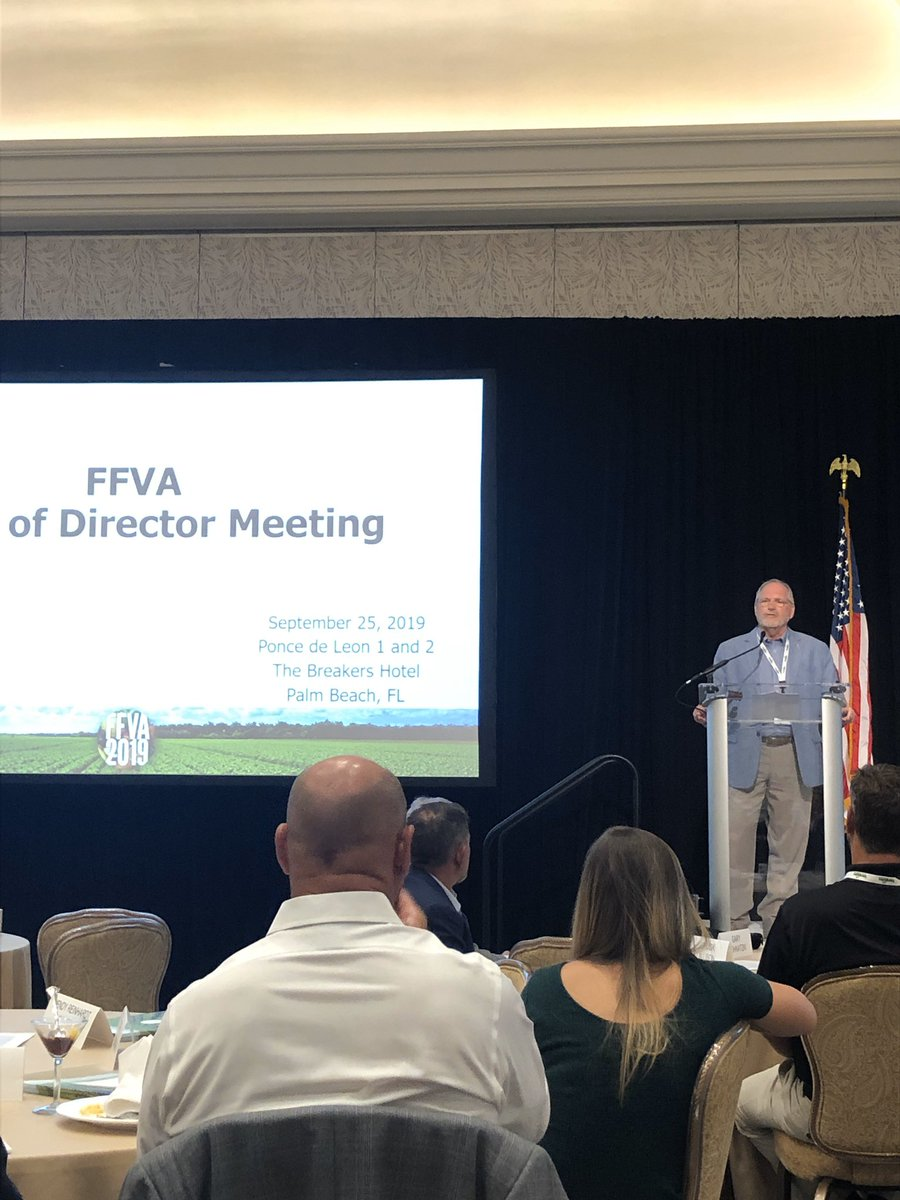 SVP @JackPayneIFAS @UF_IFAS speaks to Board of Directors in West Palm Beach this morning. @DrJtotheMastro