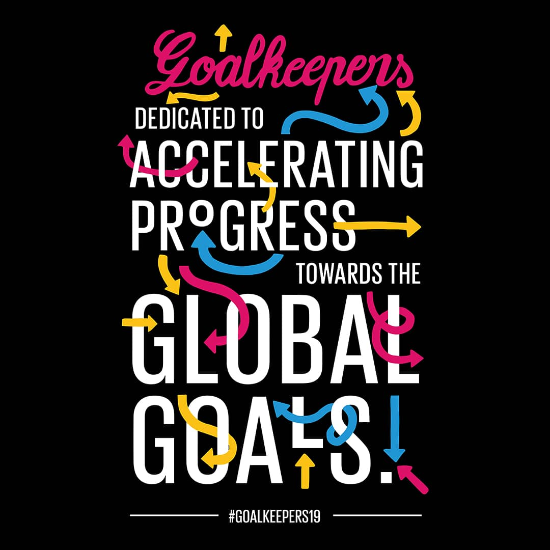 Today's the day! Excited to welcome all the incredible #Goalkeepers19 🌟