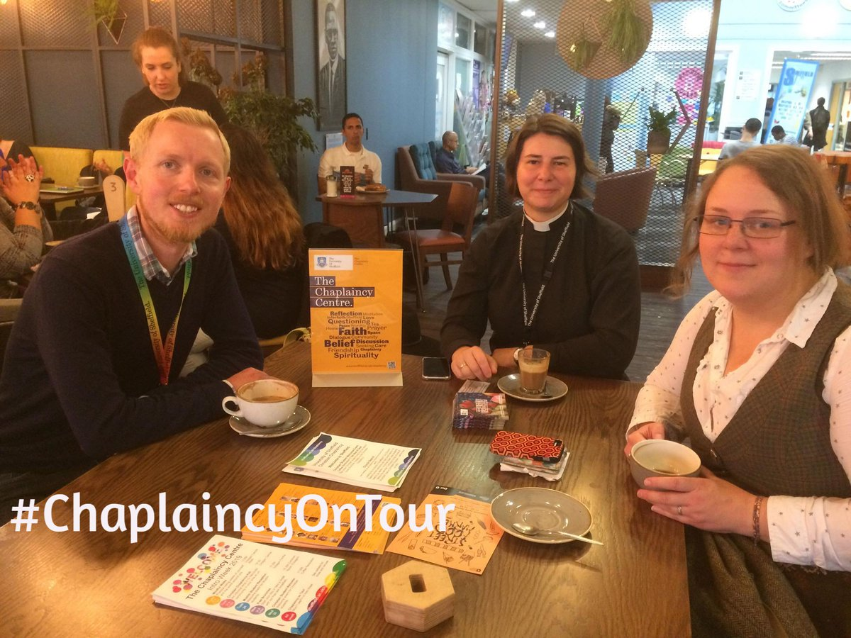 Got questions, want info, or just want a quiet coffee?  #ChaplaincyOnTour is on this week & next  Meet us @CoffeeRevSU 11-12 on Fri 27th, Mon 30th, Tue 1st & Fri 4th  #IntoWeek #IntroWeek2019 #Freshers #Freshers2019 #FreshersWeek #FreshersWeek2019 #WeAreInternational @Mithranstar
