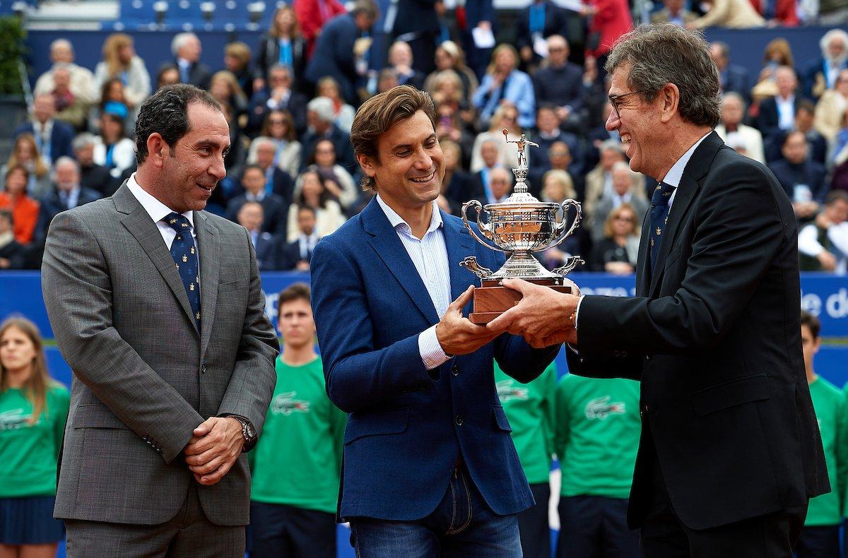 Экс-третья ракетка мира стал директором турнира в Барселоне