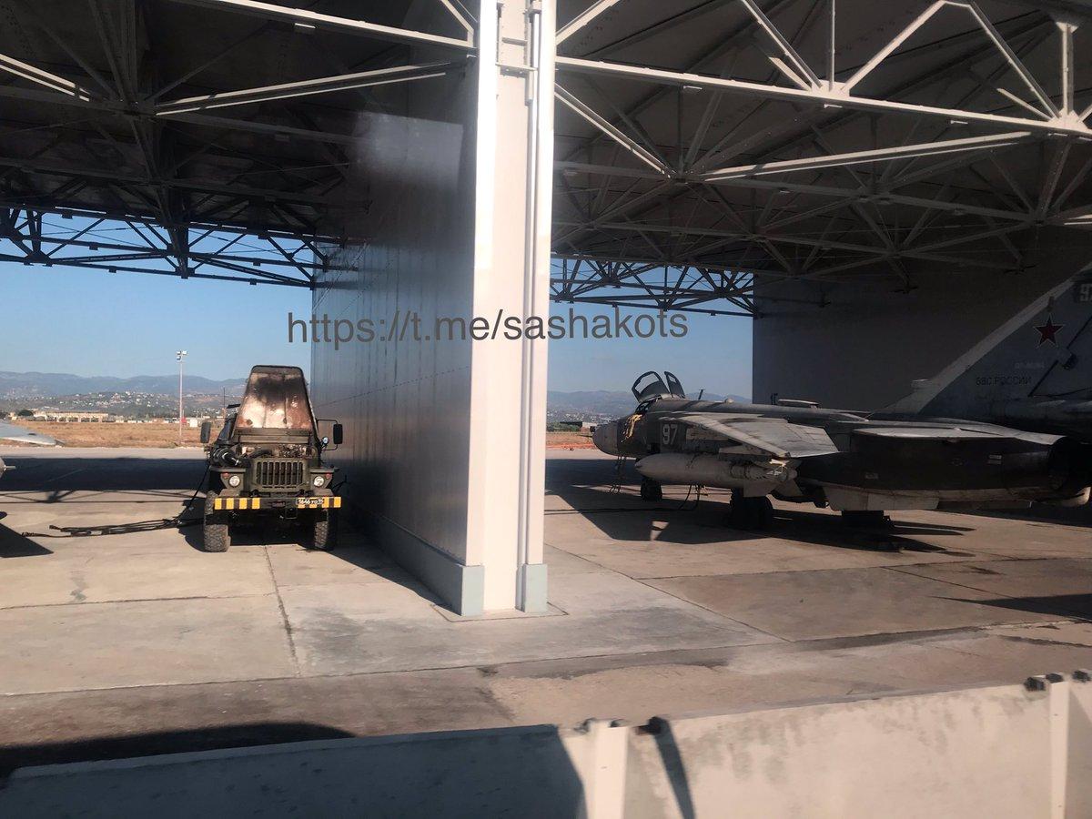 اخر عمليات البناء في قاعدة حميميم الجويه الروسيه في سوريا  EFTUYhzXYAAT_Km