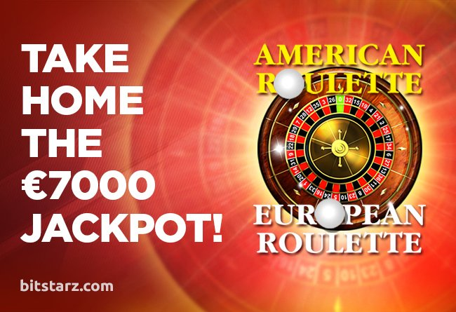 Two #roulette tables have epic #jackpots and are closing in on €7,000, can you take home the big #win? https://bit.ly/2lBAeac #OnlineRoulette #AmericanRoulette #EuropeanRoulette #BitcoinCasino #RouletteJackpot